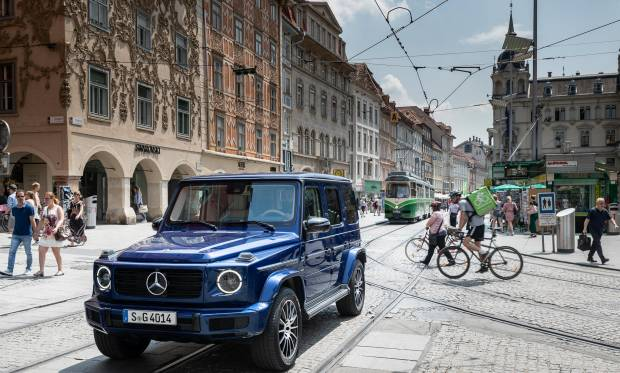 Mercedes Classe G La Stronger Than Time Edition celebra i 40 anni della off-road