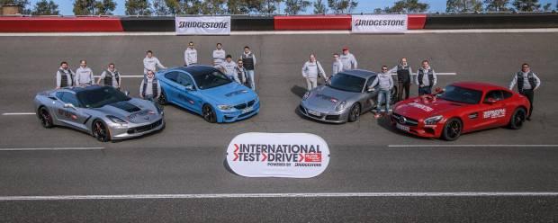 International test drive Auto Motor und Sport Maxi confronto in pista