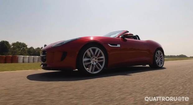 Director's cut: Jaguar F-Type R Convertibile - VIDEO