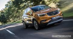 Nuova Opel Mokka X Al volante della 1.6 CDTI 4X4