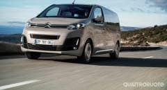 Citroën SpaceTourer Al volante della M BlueHDi 150 e 180 CV