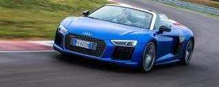 Audi R8 Spyder La scoperta dalla doppia anima