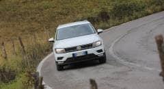 Volkswagen Tiguan  Al volante della 1.6 TDI a trazione anteriore