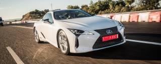 Lexus LC 500h L'ibrida che cambia