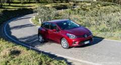 Renault Al volante della Clio turbo a Gpl