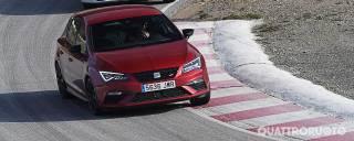 Seat Leon In pista con la Cupra 2.0 TSI 300 CV Dsg