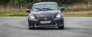 Lexus Al volante della RC F