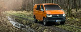 Volkswagen 4Motion Al volante del Transporter Rockton