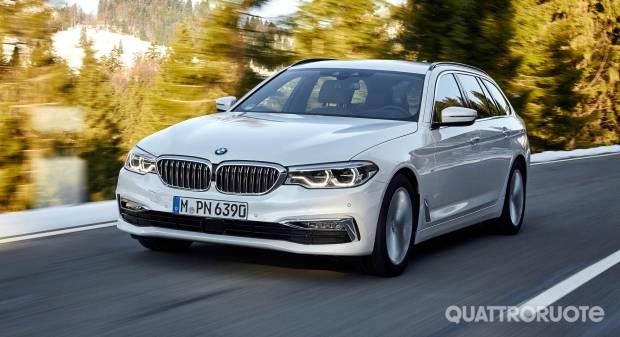 BMW Serie 5 Touring La wagon punta tutto su confort e tecnologia