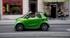 Smart fortwo cabriolet electric drive Il silenzio è d'oro