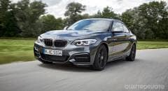 BMW Serie 2 Al volante della M240i xDrive e della 220d Cabrio