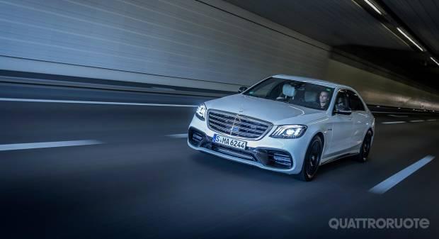 Mercedes-Benz Classe S Nessun limite al benessere