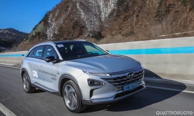 Sulla fuel cell coreana a guida autonoma