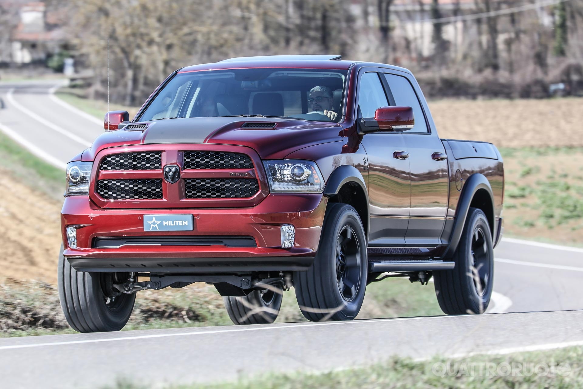 Al volante del Ram 1500 RX Militem - VIDEO