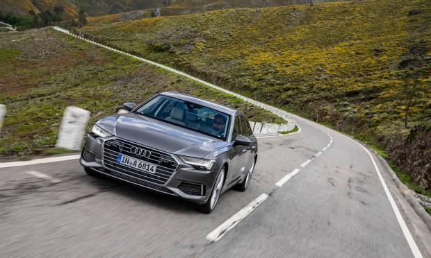 Al volante della nuova A6 berlina - VIDEO
