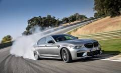 Al volante della M5 Competition - VIDEO
