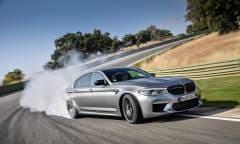 Al volante della M5 Competition - VIDEO