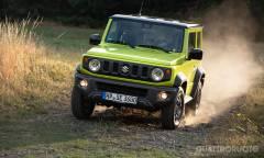 Al volante della 1.5 4WD Top da 102 CV