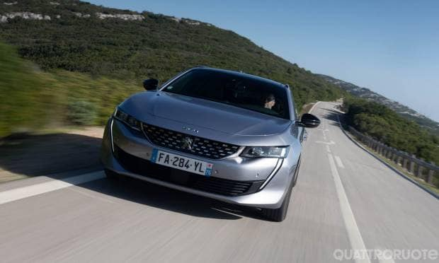 Peugeot 508 SW Al volante della BlueHDi 130 EAT8 Allure - VIDEO