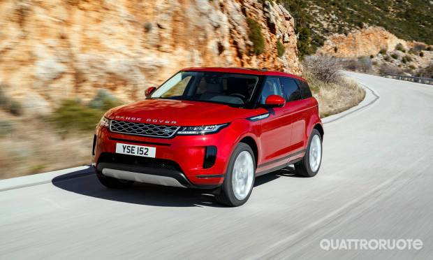 Al volante della Evoque D240 S - VIDEO