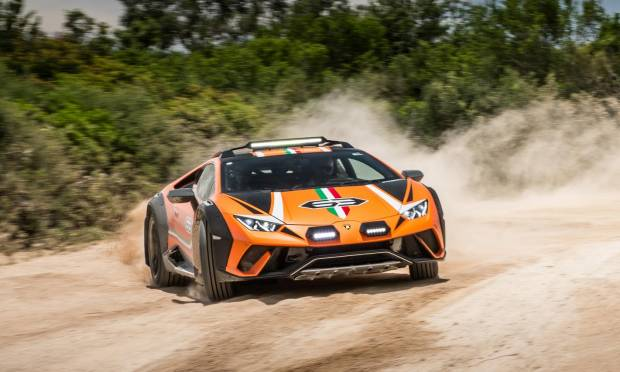 Lamborghini Huracán Sterrato La supercar che non teme l'off-road - VIDEO