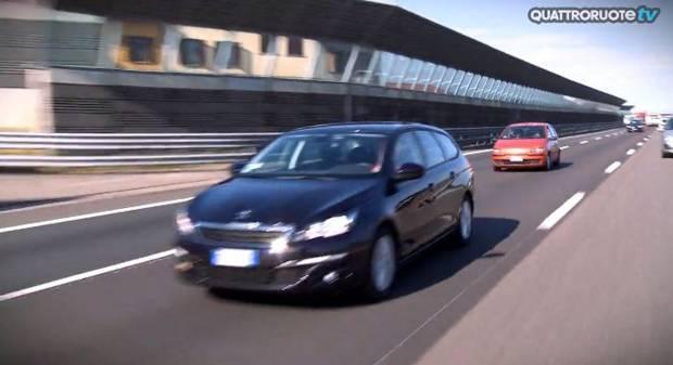 Peugeot 308 SW La video-prova del 1.6 BlueHDi 120 CV