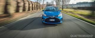 Toyota Yaris Hybrid I primi 13.000 km della prova di durata - VIDEO