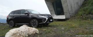 Mitsubishi Outlander Phev L'ibrida plug-in con qualcosa in più - VIDEO