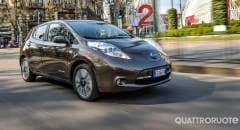Nissan Leaf La prova della Tekna 30 kWh