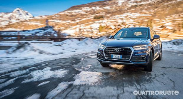 Su Quattroruote di febbraio La prova della nuova Audi Q5 - VIDEO