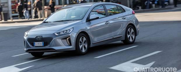 Hyundai Ioniq La prova della Electric Comfort