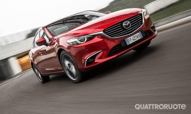 Mazda6 La prova della 2.2L Skyactiv-D Exceed