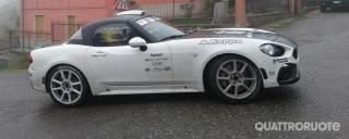 Abarth 124 Rally Test al via con Delecour ospite d'eccezione - VIDEO