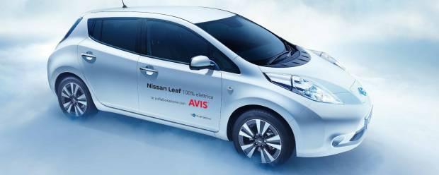 Nissan La Leaf entra a far parte della flotta Avis