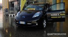Mobilità verde La Nissan Leaf entra nella flotta Hertz Green Collection