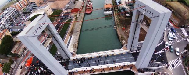 Traffico/Fiumicino Inaugurato il nuovo ponte 2 Giugno