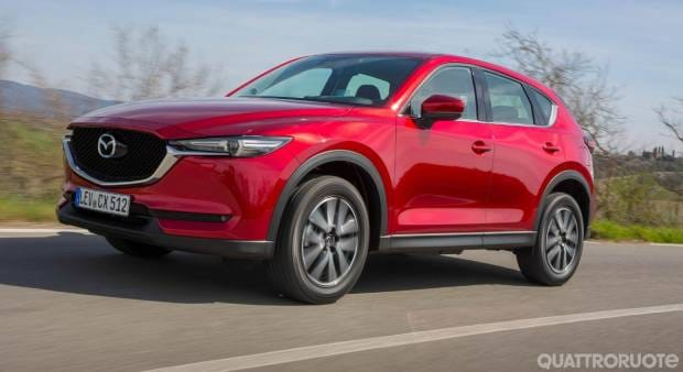 La Mazda CX-5 promossa con il Top Safety Pick+