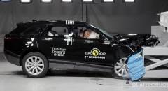 La Range Rover Velar tra le Suv più sicure d'Europa - VIDEO