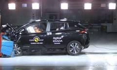 La Nissan Leaf conquista le cinque stelle
