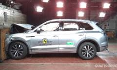 I crash test di A6, Touareg, Tourneo e Jimny - VIDEO