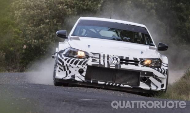 Primi collaudi per la GTI R5
