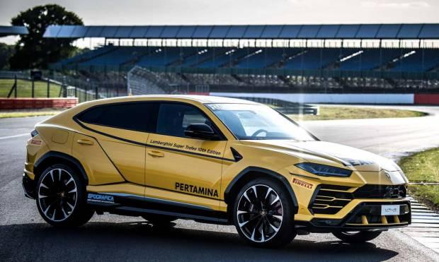 Lamborghini La Urus diventa Lead Car del Super Trofeo