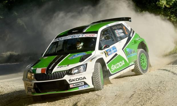 Scandola e la Skoda vincono il Rally Adriatico