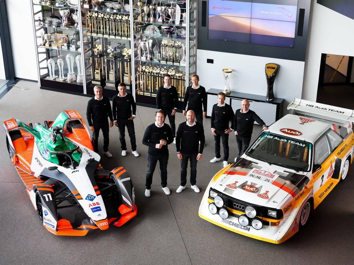 "Dakar - L'Audi svela il suo ""dream team"""