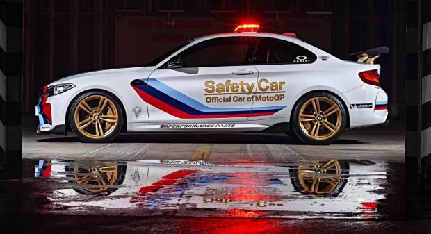 BMW M2 Safety Car per il Mondiale di MotoGP