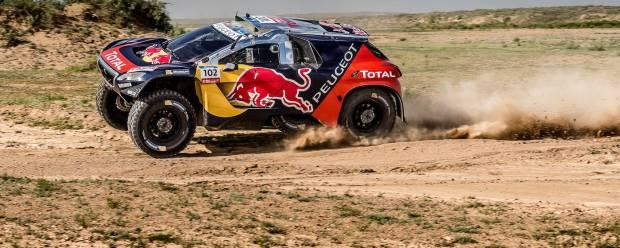 Rally Raid Mosca-Pechino Despres e la Peugeot vincono il Silk Way Rally