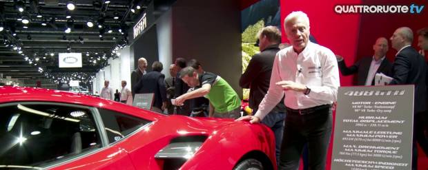 Salone di Francoforte A lezione di aerodinamica - VIDEO
