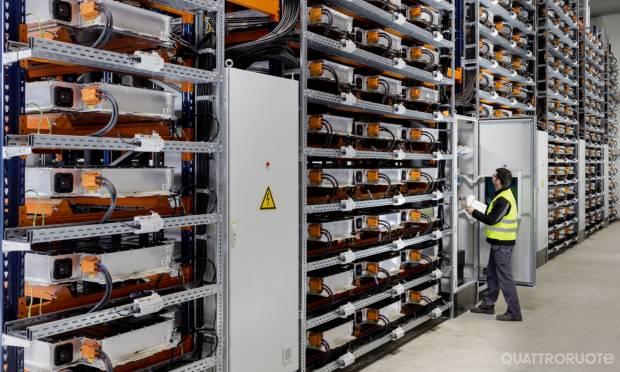A Lipsia una farm per le batterie usate