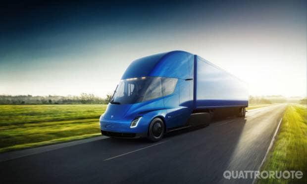 Nel 2020 il camion elettrico con 800 km di autonomia