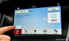 Alexa debutterà sugli infotainment delle auto